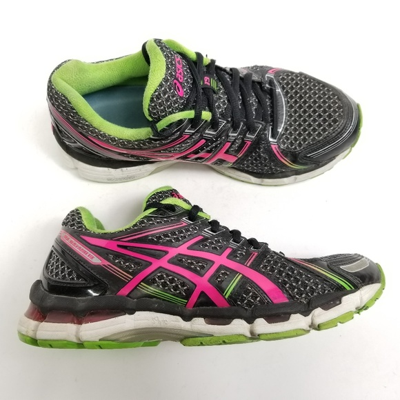 Asics Womens Gel Kayano 19 Running Shoes Sz 8